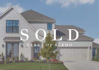 504 Point Vista Drive Parks of Aledo | 4 Bed | 3.5 Bath | 2.5 Car | Sold