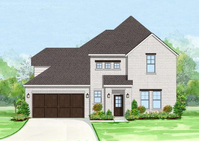 817 Landmark Drive Parks of Aledo | 4 Bed | 3.5 Bath | 2 Car | $486,000