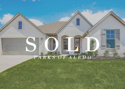 860 Highlands Avenue Parks of Aledo | 4 Bed | 3 Bath | 2 Car + Tandem | Sold