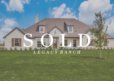 1426 Oliver Creek Lane | Legacy Ranch | 4 Bed | 2.5 Bath | 3 Car | Sold