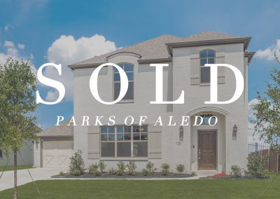 101 Parkview Drive Parks of Aledo | 4 Bed | 2.5 Bath | 2 Car | Sold