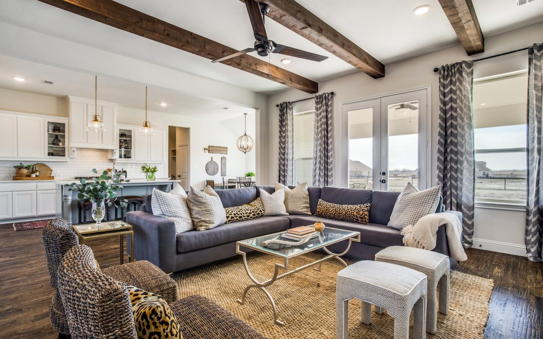 Northwest ISD New Farmhouse Model Home Wows