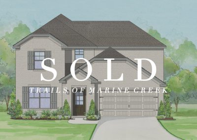 6365 Red Cliff Drive Trails of Marine Creek | 4 Bed | 3 Bath | 2 Car | SOLD