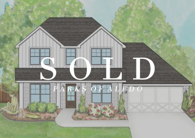 861 Highlands Avenue Parks of Aledo | 4 Bed | 3.5 Bath | 2 Car | Sold