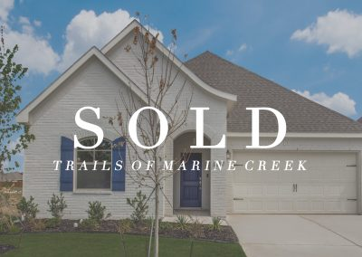 6357 Red Cliff Drive Trails of Marine Creek | 3 Bed | 2 Bath | 2 Car | Sold
