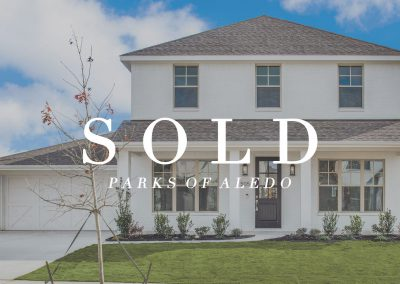 505 Point Vista Drive Parks of Aledo | 4 Bed | 3.5 Bath | 2 Car | Sold