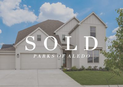 536 Point Vista Drive Parks of Aledo | 4 Bed | 3 Bath | 3 Car | Sold