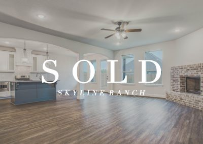 5213 Ranchero Trail Skyline Ranch | 4 Bed | 2.5 Bath | 2 Car | Sold