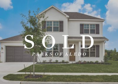579 Point Vista Drive Parks of Aledo | 4 Bed | 3 Bath | 2 Car | Sold