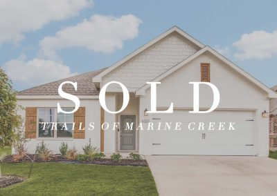 6320 Battle Mountain Trail | Trails of Marine Creek | 4 Bed | 2 Bath | 2 Car | Sold