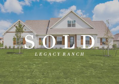 1422 Oliver Creek Lane | Legacy Ranch | 4 Bed | 3 Bath | 3 Car | Sold