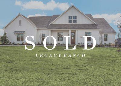 1401 Oliver Creek Lane | Legacy Ranch | 3 Bed | 3 Bath | 3 Car | Sold