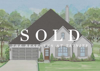 812 East Jockey | Reserves at Trinity | 4 Bed | 2 Bath | 2 Car | Sold