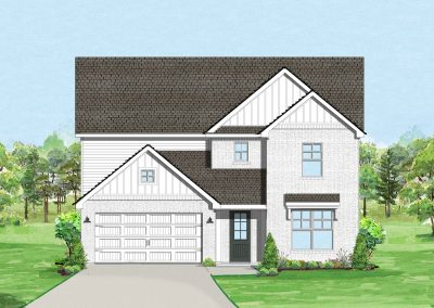 Thomas III (The Bluffs at Parks of Aledo) | 4-5 Bed | 2-4 Bath | Game Room | 2 Car