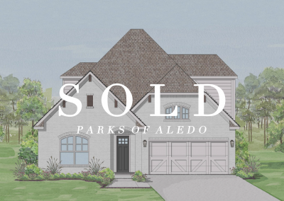SOLD   111 Observation Drive   The Bluffs at Parks of Aledo   3 Bed   3 Bath   Game Room   2 Car