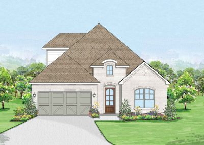 Thomas II (The Bluffs at Parks of Aledo) | 3 Bed | 2-3 Bath | Game Room | 2 Car